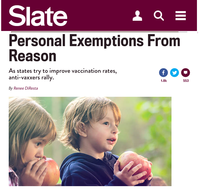 Slate: Personal Exemptions From Reason