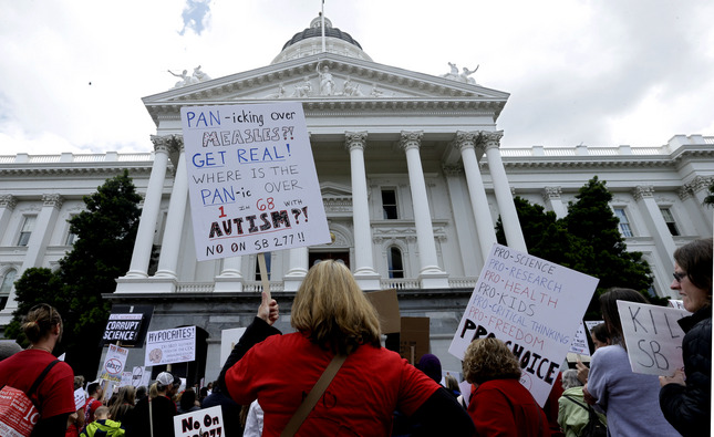 San Jose Mercury News: Vaccine exemptions: California SB277 against opt-outs advances in 6-2 Senate Health Committee vote, 4/8/2015