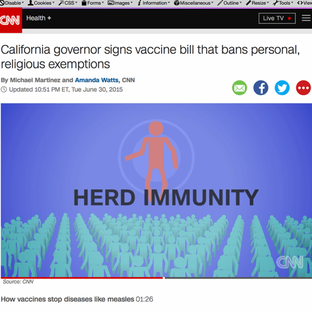 CNN: Herd Immunity