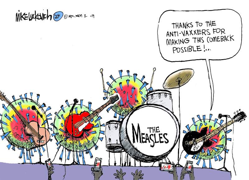 Governor, ask the experts about measles – Press Democrat, 6/5/2019